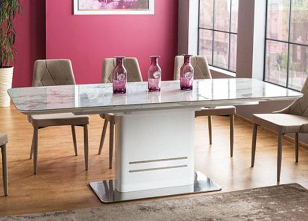 Jatkettava ruokapöytä 160-210x90 cm WS-136874