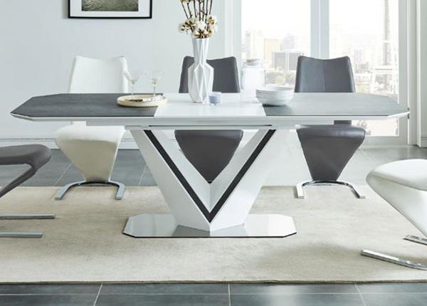 Jatkettava ruokapöytä 160-220x90 cm WS-136875
