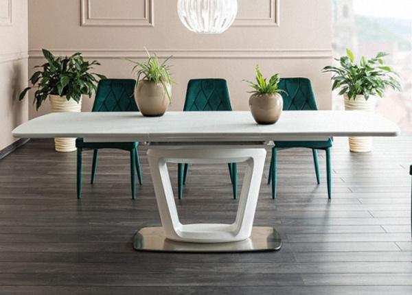 Jatkettava ruokapöytä CLAUDIO II 160-220x90 cm WS-136876
