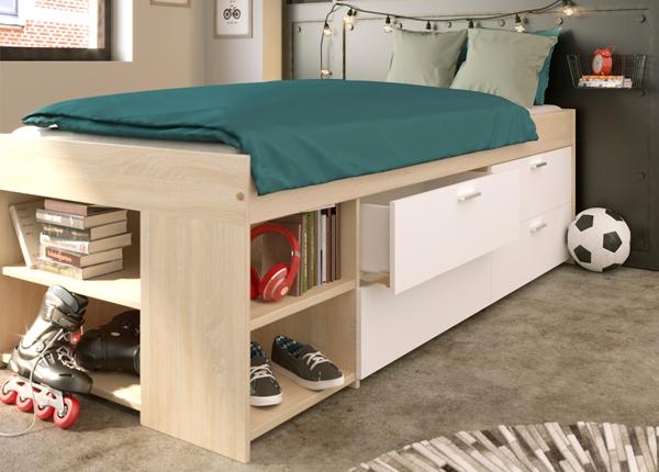 Sänky vuodevaatelaatikoilla WAKE UP 90x200 cm MA-137030