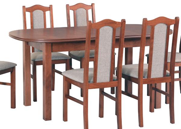Jatkettava ruokapöytä 160-200x80 cm CM-137158