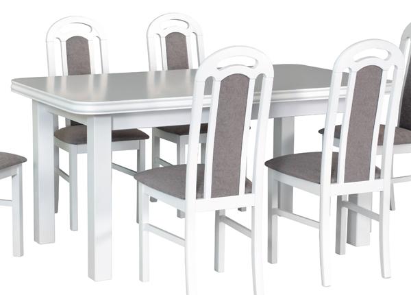 Jatkettava ruokapöytä 160-200x90 cm CM-137163