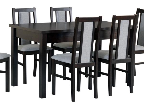 Jatkettava ruokapöytä 140-180x80 cm CM-137185