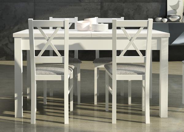 Jatkettava ruokapöytä 140-180x80 cm CM-137186