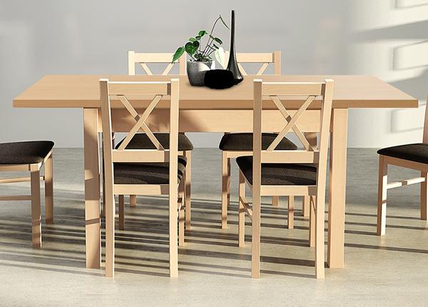 Jatkettava ruokapöytä 140-180x80 cm CM-137188