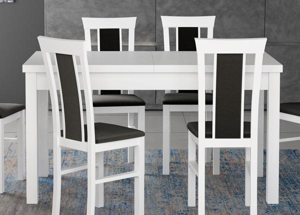Jatkettava ruokapöytä 160-200x90 cm CM-137191