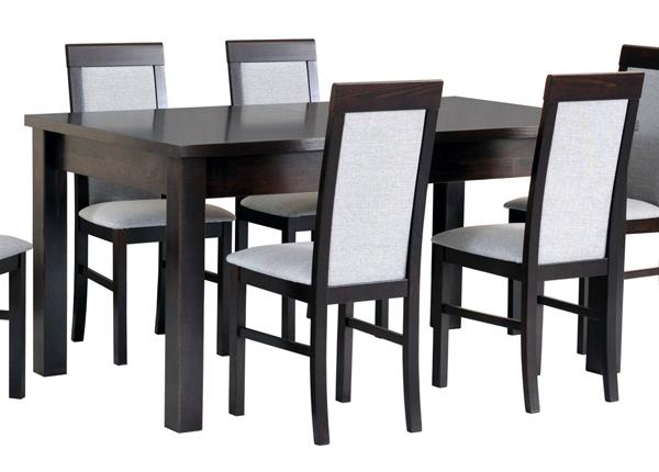 Jatkettava ruokapöytä 160-200x90 cm CM-137193