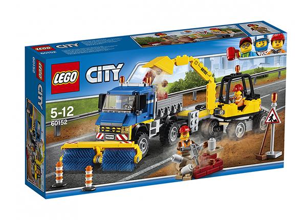 LEGO City TIEPUHDISTUS JA KAIVINKONRE RO-137478