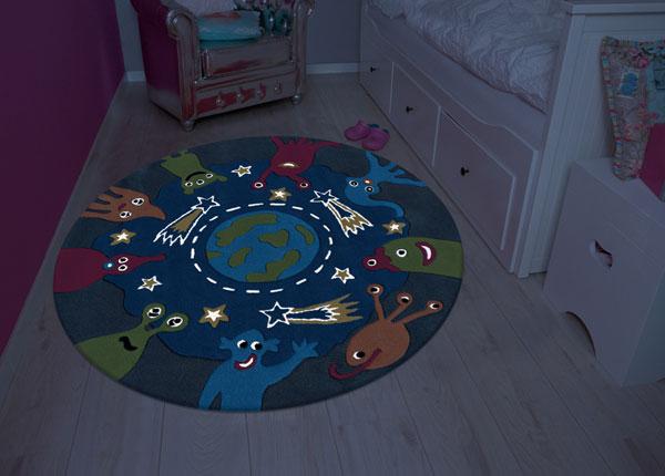 Lasten matto pyöreä Ø130 cm A5-137529