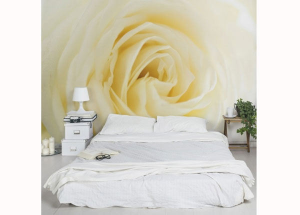 Fleece-kuvatapetti WHITE ROSE ED-137558