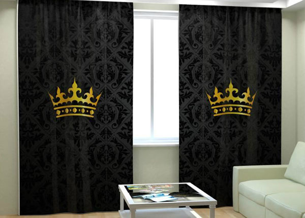 Kuvaverho THE CROWN 300x260 cm AÄ-138268