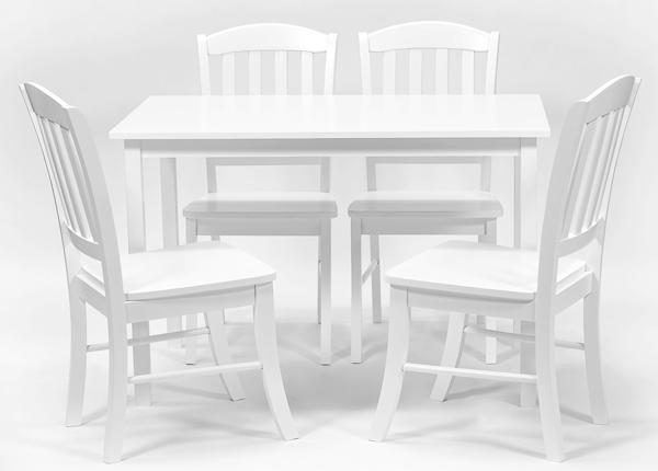 Ruokapöytä ROSELLA + 4 tuolia MONACO GO-138408