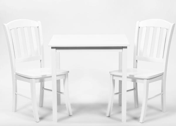 Ruokapöytä ROSELLA + 2 tuolia MONACO GO-138411