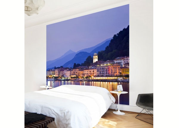 Fleece-kuvatapetti BELLAGIO ON LAKE COMO ED-138567