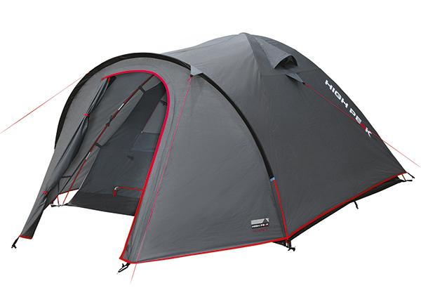 Teltta HIGH PEAK NEVADA 2 tummanharmaa/punainen HU-138665