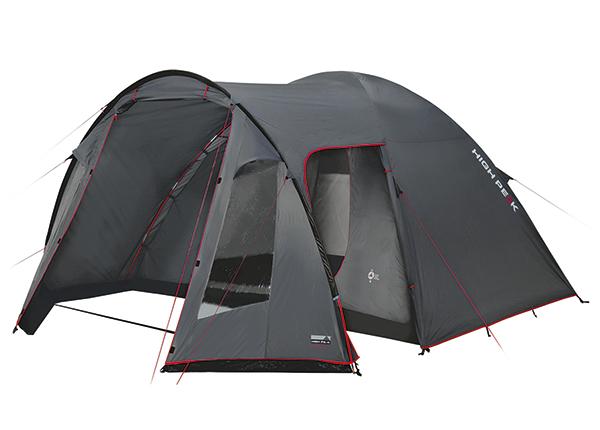 Teltta HIGH PEAK TESSIN 4 tummanharmaa/punainen HU-138669