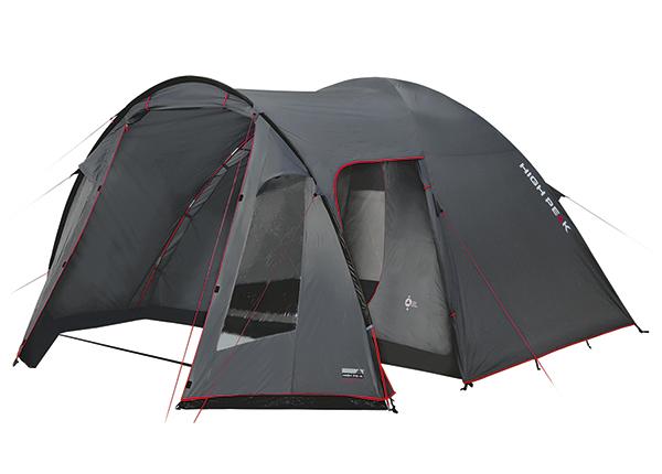 Teltta HIGH PEAK TESSIN 5 tummanharmaa/punainen HU-138732