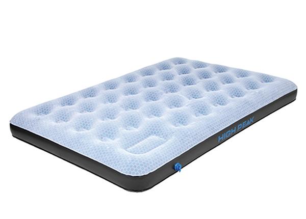 Ilmapatja HIGH PEAK DOBLE Comfort Plus harmaa/sininen/musta HU-138829