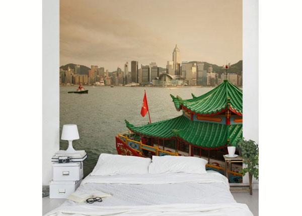 Fleece-kuvatapetti HONG KONG