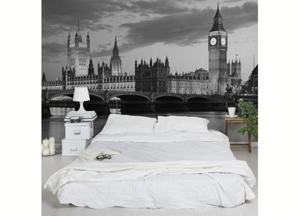 Fleece-kuvatapetti LONDON AT NIGHT II