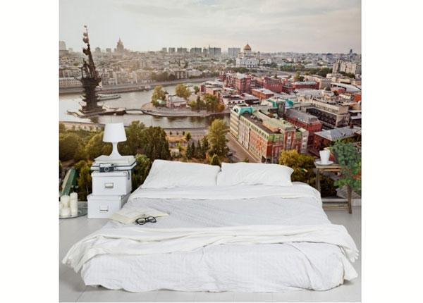 Fleece-kuvatapetti CITY OF MOSCOW