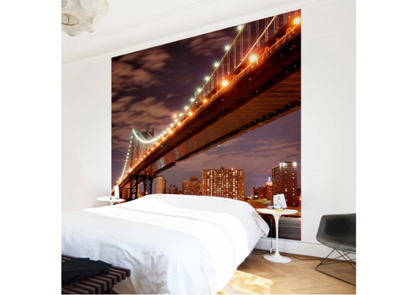 Fleece-kuvatapetti MANHATTAN BRIDGE ED-139335