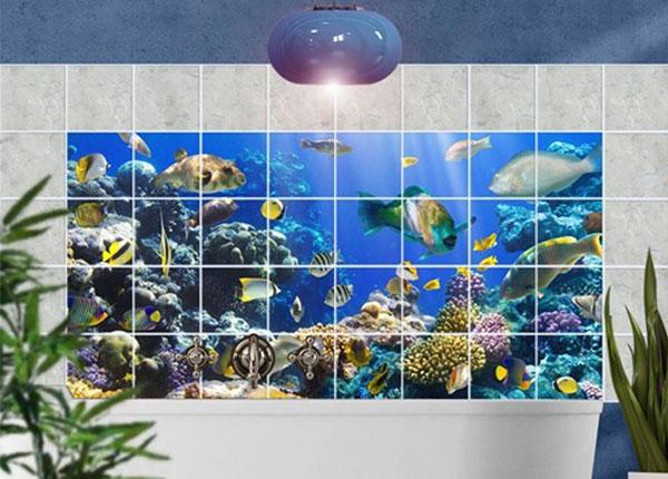 Tarrat seinälaatoille UNDERWATER REEF, 60x120 cm