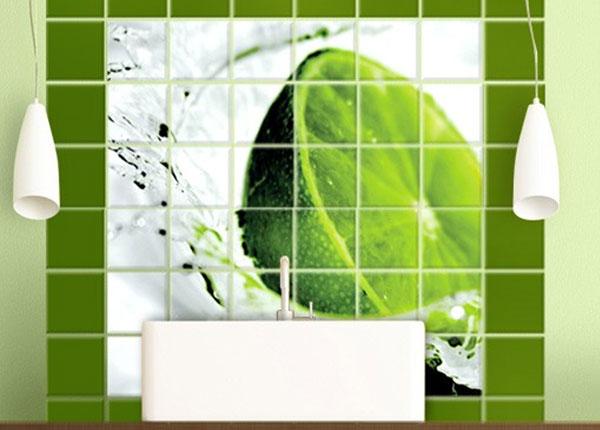 Tarrat seinälaatoille SPLASH LIME 120x120 cm