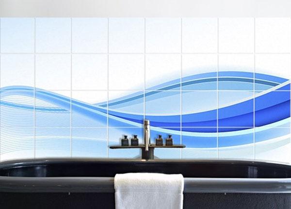 Tarrat seinälaatoille BLUE WAVING COMPOSITION 60x120 cm
