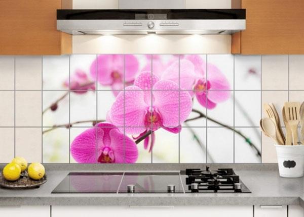 Tarrat seinälaatoille CLOSE-UP OF ORCHID 60x120 cm