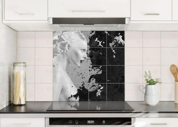 Tarrat seinälaatoille MILK & COFFEE II, 120x120 cm