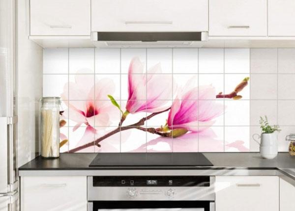 Tarrat seinälaatoille DELICATE MAGNOLIA BRANCH 60x120 cm