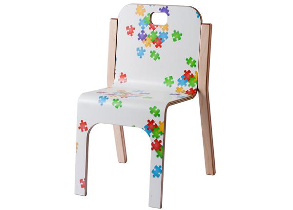 Lasten tuoli TOMMY 3 PUZZLE h 57/35 cm TO-139903