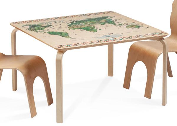 Lasten pöytä PIPPA REGIO MAAILMANKARTALLA TO-139904
