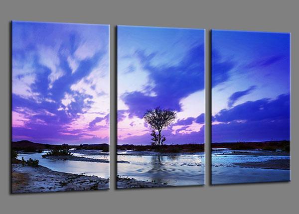 Kolmeosainen seinätaulu NATUR 60x90 cm ED-139940