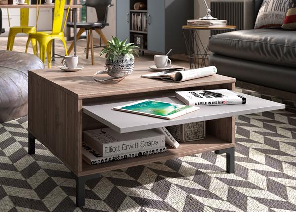 Sohvapöytä TRAY 70x70 cm MA-140154