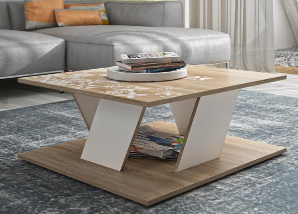 Sohvapöytä BALTIC 80x80 cm MA-140166