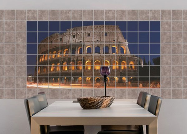 Tarrat seinälaatoille COLOSSEUM IN ROME AT NIGHT 60x120 cm