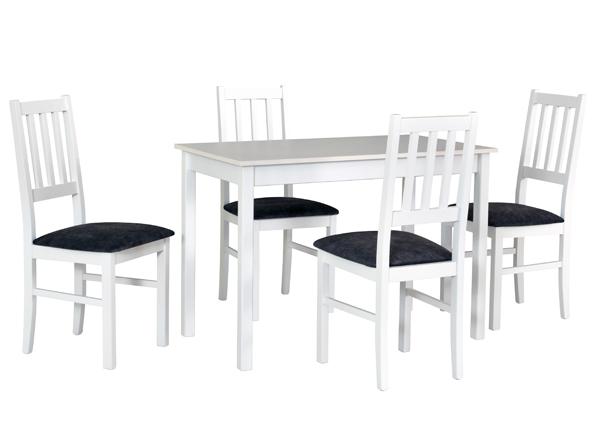 Ruokapöytä ja 4 tuolia CM-140522