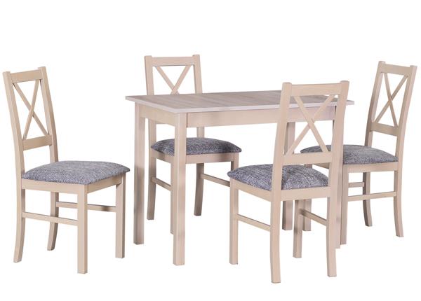 Ruokapöytä ja 4 tuolia CM-140523