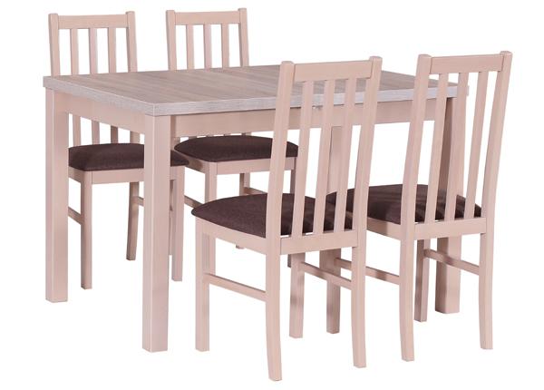 Ruokapöytä ja 4 tuolia CM-140524