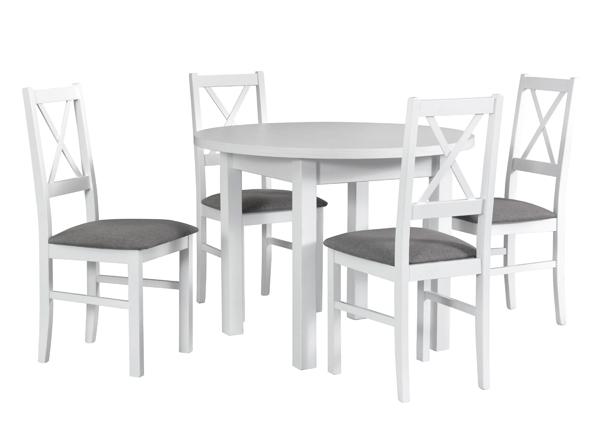 Ruokapöytä ja 4 tuolia CM-140588
