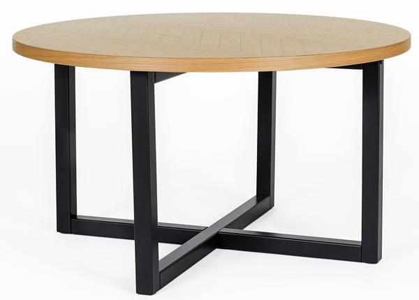 Mora ruokapöytä Ø 80 cm HERRINGBONE PRINT WO-140698