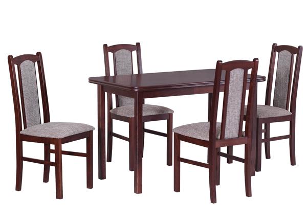 Jatkettava ruokapöytä ja 4 tuolia CM-140901