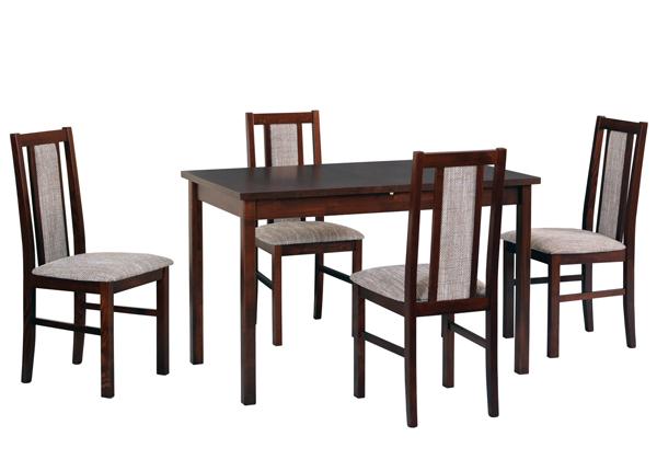 Ruokapöytä ja 4 tuolia CM-140942