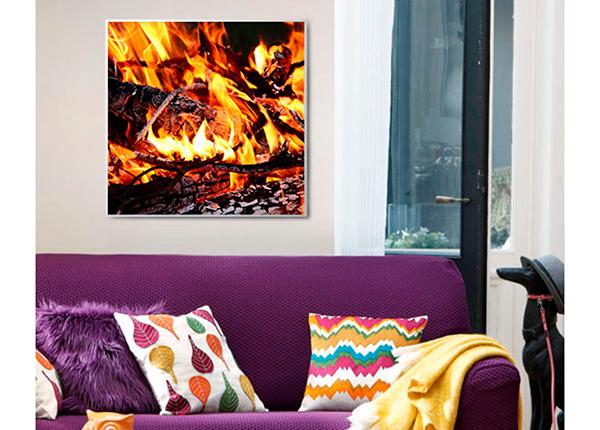 Infrapuna lämpöpaneeli kuvalla 400 W HD-141057