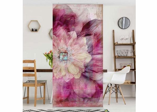 Paneeliverho GRUNGE FLOWER 250x120 cm ED-141212
