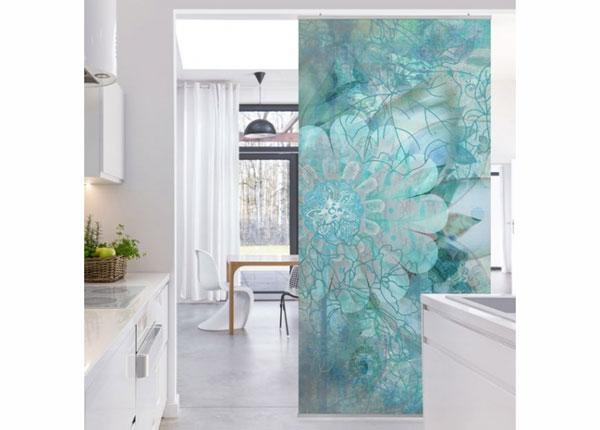 Paneeliverho WINTER FLOWERS 250x120 cm ED-141215