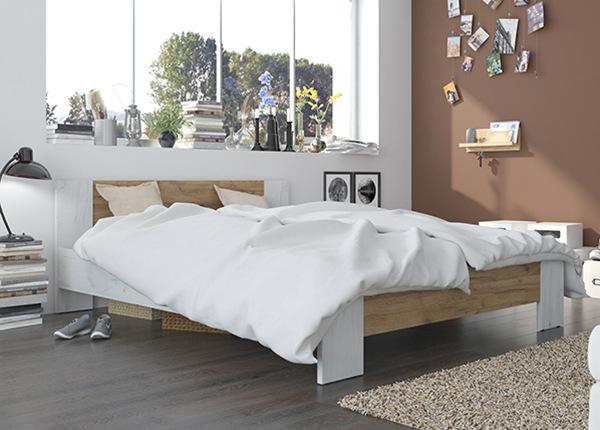 Sänky VEGA 160x200 cm + patja PRIME STANDARD BONELL TF-142153