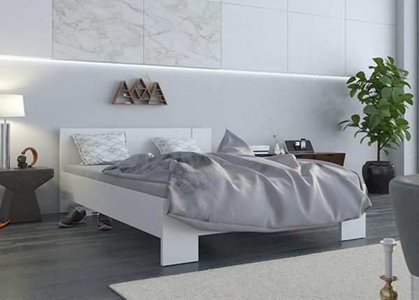Sänky VEGA 140x200 cm + patja PRIME STANDARD BONELL TF-142211